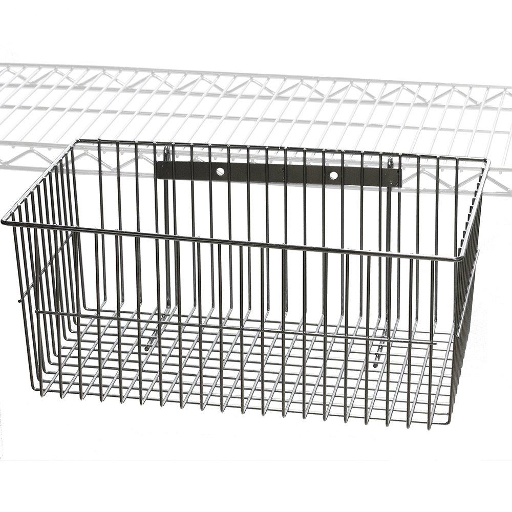 Wire Utility Basket for Wire Shelving by Shelving Inc