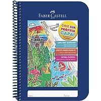 Caderno Criativo 6 Unidades, Faber-Castell, Azul