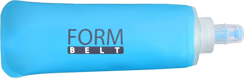 Formbelt® Botella pequeña Soft Flask de 250 ml o 350 ml para Riñoneras Running/Cinturones Deportivos y Morrales | Deporte Entrenamiento Jogging Correr Ciclismo Escalada Acampada Camping