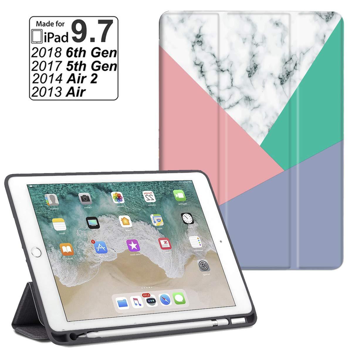【超特価SALE開催!】 iPad B07PSLW21X 9.7 2018 iPad/2017 ケース 軽量スマートケース iPad 自動スリープ/スリープ解除機能付き ソフトTPUバックカバー Apple iPad 9.7 iPad 第5/第6世代対応 B07PSLW21X, TENKA テンカ パワーストーン:8b145ba3 --- a0267596.xsph.ru