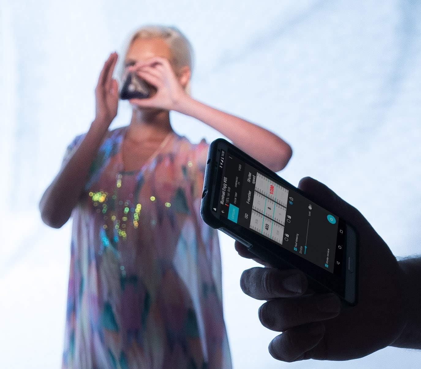 IM150 Illuminati Wireless Bluetooth Light Meter and Color Temperature Meter