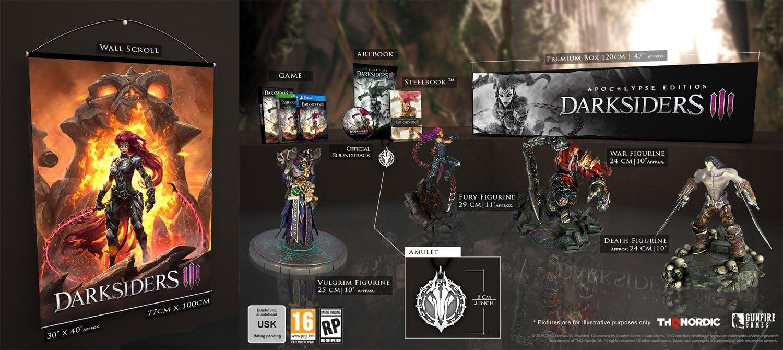 Darksiders III Apocalypse Edition - PlayStation 4 [Importación ...