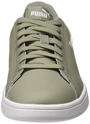bbb02a53b7 Puma Unisex s Smash V2 L Perf Rock Ridge Leather Sneakers-9.5 UK India (44  EU) (36521303)  Buy Online at Low Prices in India - Amazon.in