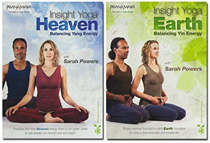 Amazon.com: Insight Yoga: Heaven and Earth 2-DVD Set: Sarah ...