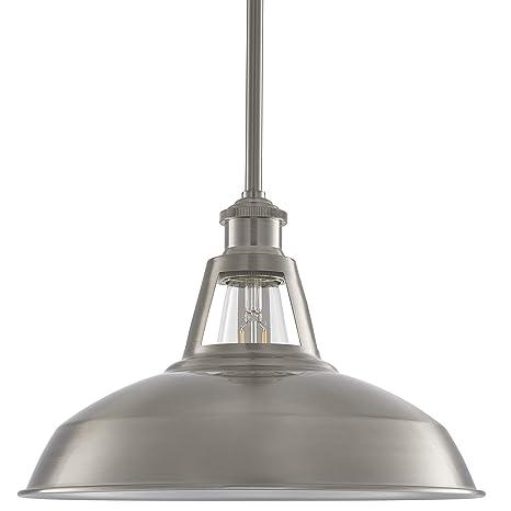 Brushed Nickel Pendant Lighting Fixtures Kitchen Cool Light ...