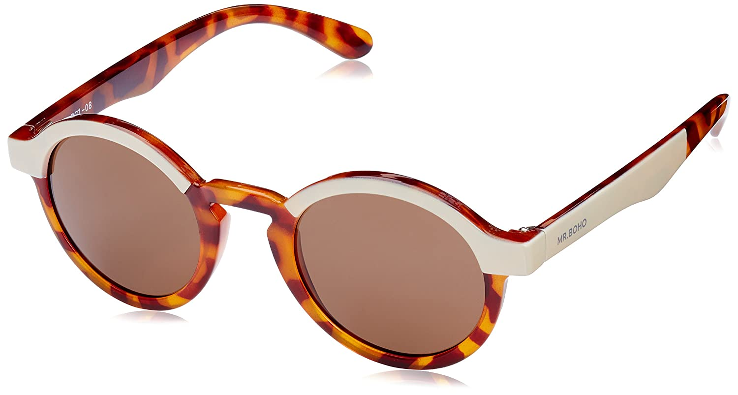 MR, Cream/leo tortoise dalston with classical lenses - Gafas De Sol unisex multicolor (carey), talla única