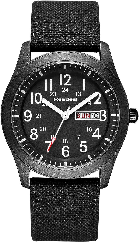 Youwen Luxury Brand Military Watches Men Quartz Analog Canvas Clock Sports Watches Army Military Watch