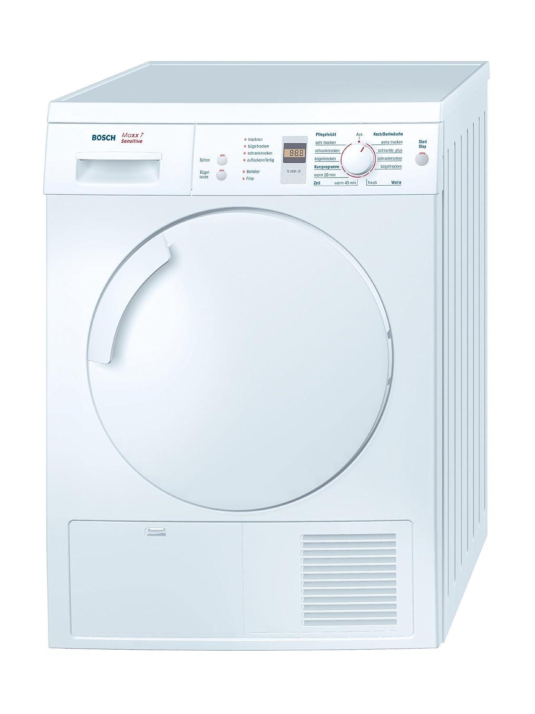 Bosch WTE84301 Trockner Kondens / B / 3.92 KWh / 7 Kg: Amazon.de:  Elektro Großgeräte