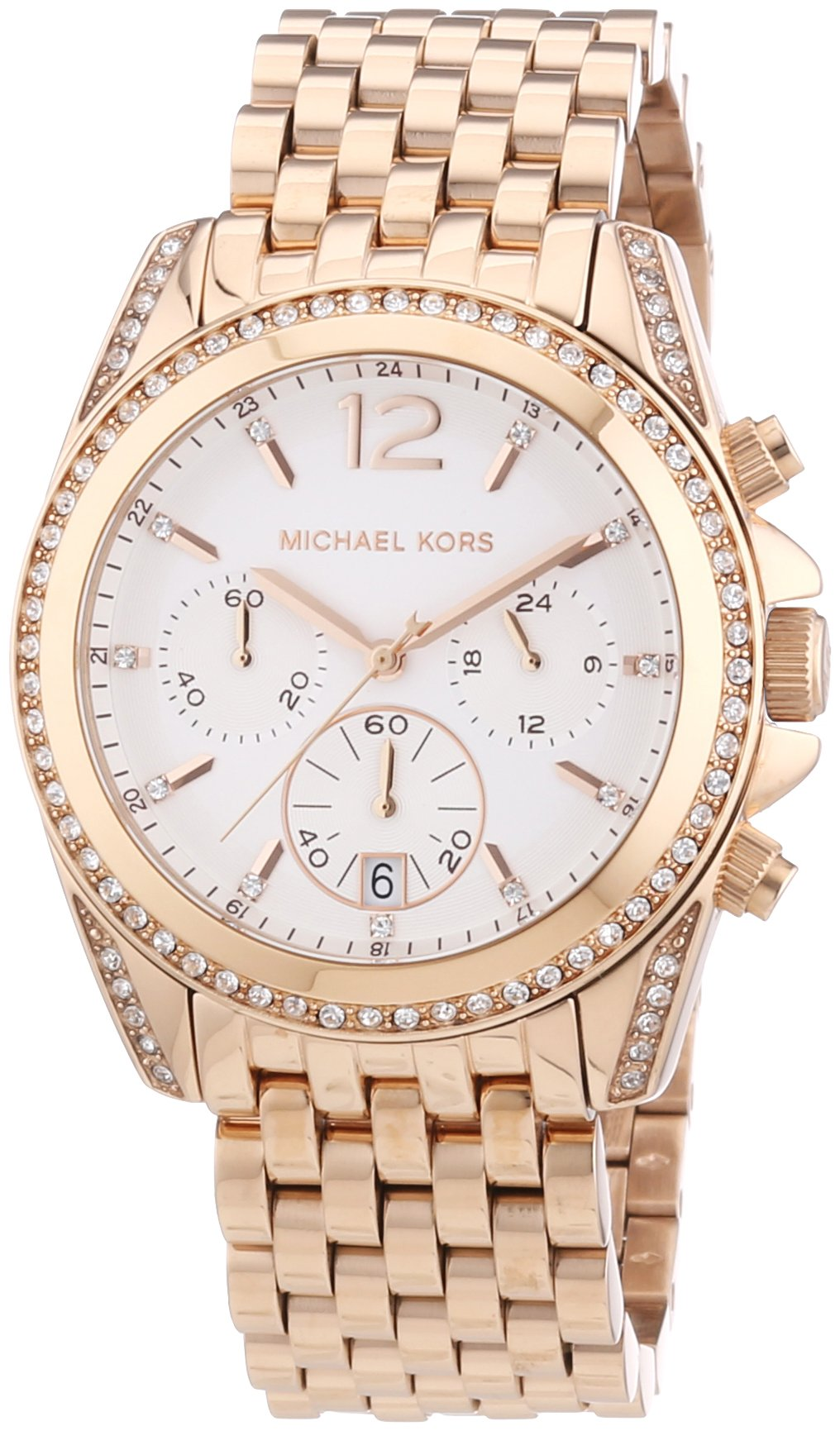 Michael Kors Watches Pressley Watch (Rose Gold)