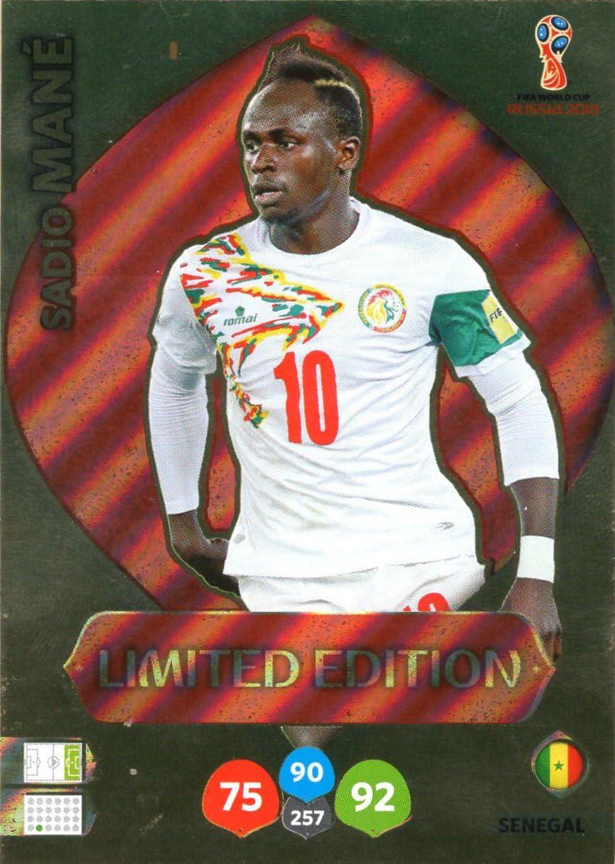 Adrenalyn XL FIFA World Cup 2018 Rusia – Sadio Melena Tarjeta de Comercio de edición Limitada – Senegal: Amazon.es: Deportes y aire libre