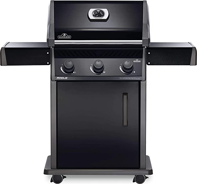 Napoleon R425PK-1 Rogue 425 Gas Grill, sq. in, Black