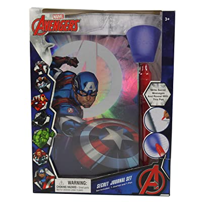 Connie N Randy Marvel Avengers Captain America Secret Journal Set: Toys & Games