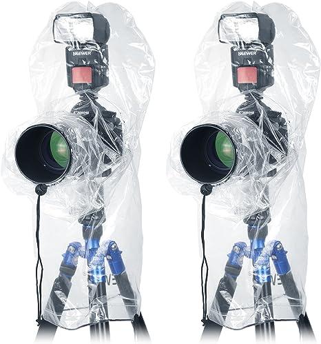 Neewer 4 piezas cámara lluvia Protector de pantalla para Canon ...