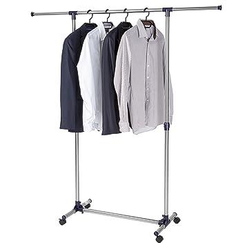 TecTake Perchero soporte regulable colgador de ropa percha - varios modelos - (Modelo