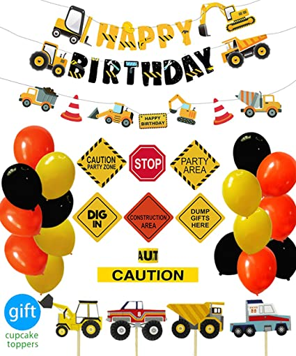 Image Unavailable Not Available For Color Construction Birthday Party Supplies Dump Truck Decorations