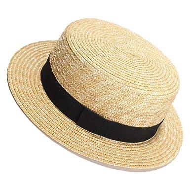 Sombreros de moda gorras, Dama de la moda Sombrero de paja de ...