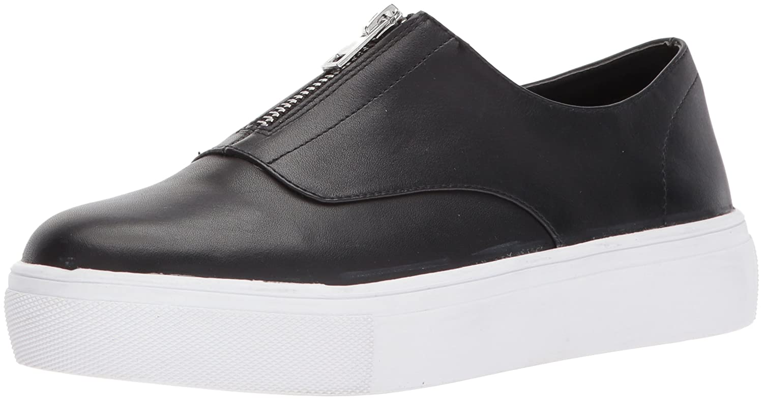 STEVEN by Steve Madden Women's Gratis Sneaker B072BZPLPQ 8.5 B(M) US|Black Leather