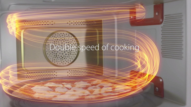 Whirlpool mcp345bl – Horno de microondas, 25 L talla única Blanco