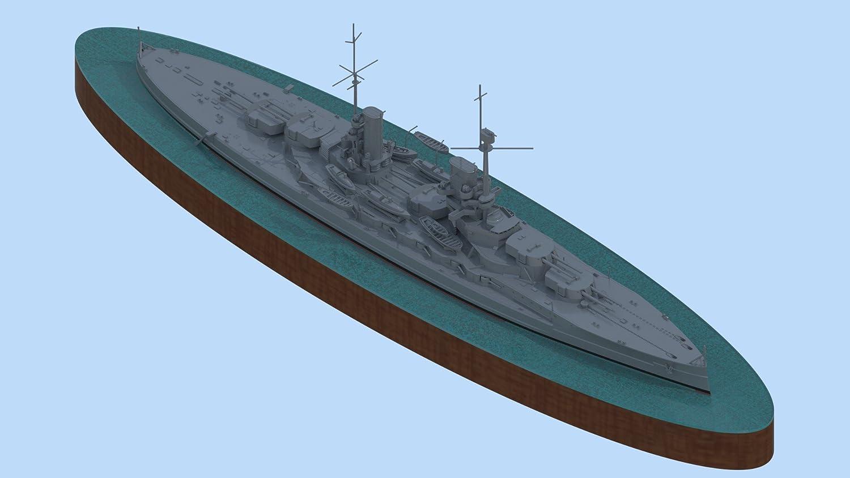 Amazon.com: Plástico Modelo König WWI alemán de Guerra Full ...