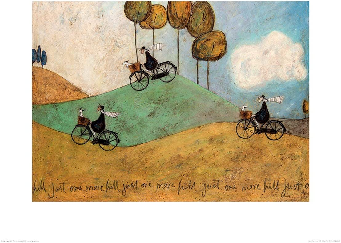 Sam Toft Print Be Who You Be 40x50cm
