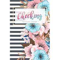 Checking Account Ledger: 6 Column Payment Record, Record and Tracker Log Book, Personal Checking Account Balance…