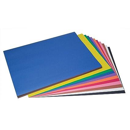 Amazoncom Sunworks Pac6518 Construction Paper 10 Assorted Colors