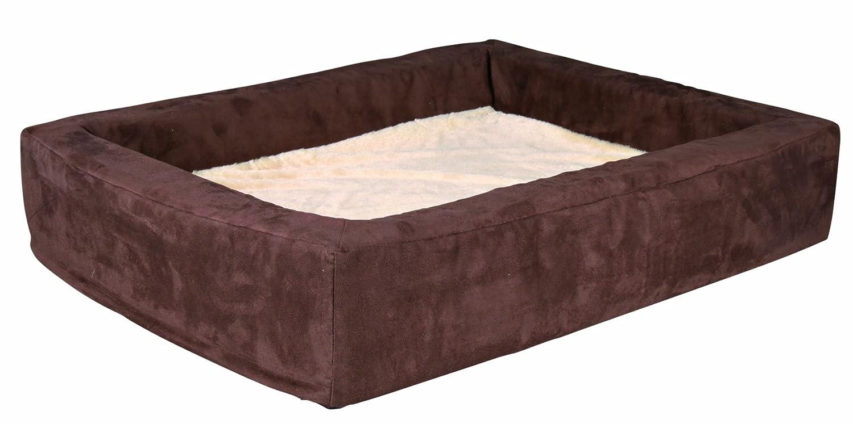 Trixie cama para perros Memory, 70 × 56 cm, Marrón/Beige: Amazon.es: Productos para mascotas