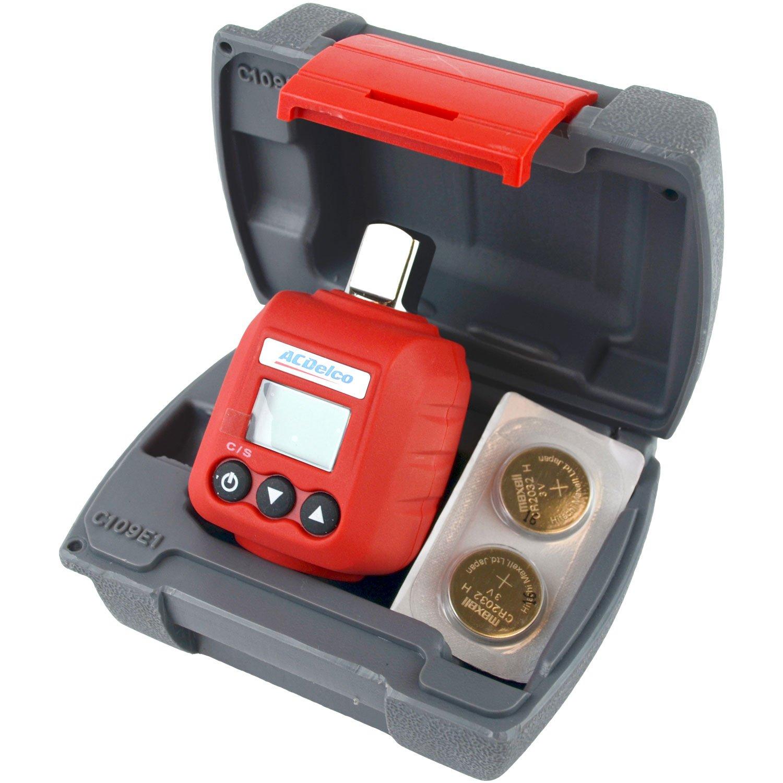 ACDelco ARM602-3 3/8-Inch Torque Measurement Adapter, 3-59-Feet Pound Durofix