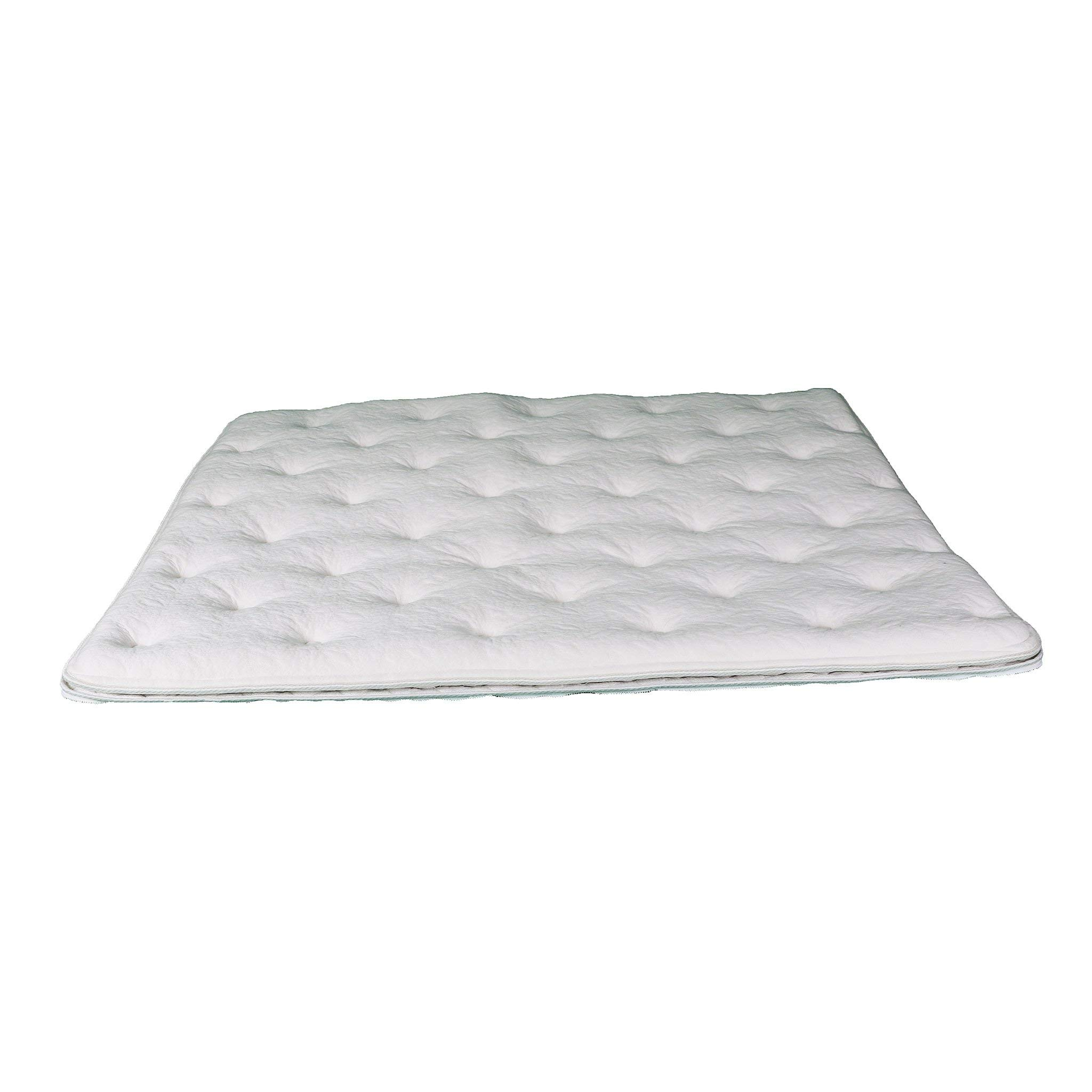 Zip-On Pillow Top for Softside Waterbeds Eastern King 76in x 80in / Aloe Vera by Sterling Sleep System