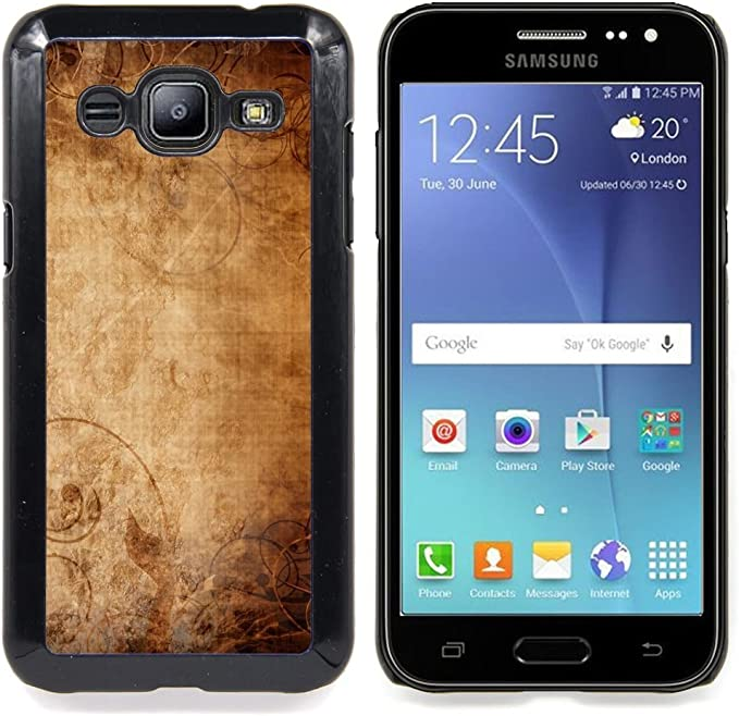 For Samsung Galaxy J2 Wallpaper Ancient Old Paper Canvas Art Design Hard Plastic Protective Case Slim Fit Cover Super Marley Shop Amazon Co Uk Electronics