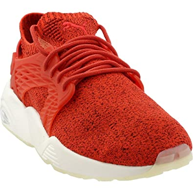 bea10f56ed60ce PUMA Mens Blaze Cage Evoknit Athletic   Sneakers Red