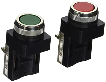 uxcell Green Red Sign Momentary DPST Push Button Switch 1 NO 1 NC 250V 6A
