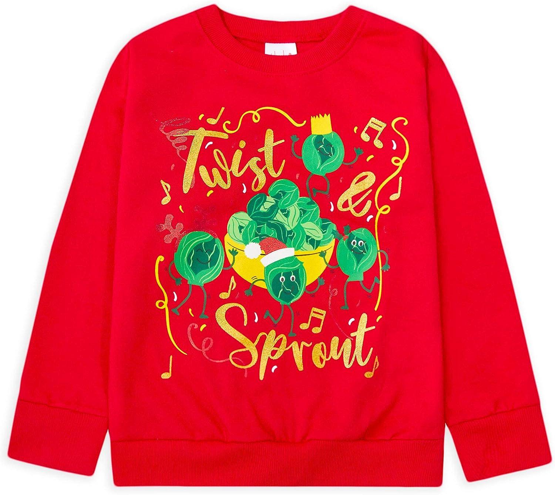 JollyRascals Girls Boys Christmas Jumper Xmas Sweatshirt Cotton Top Kids New Age 7 8 9 10 11 12 13 Years