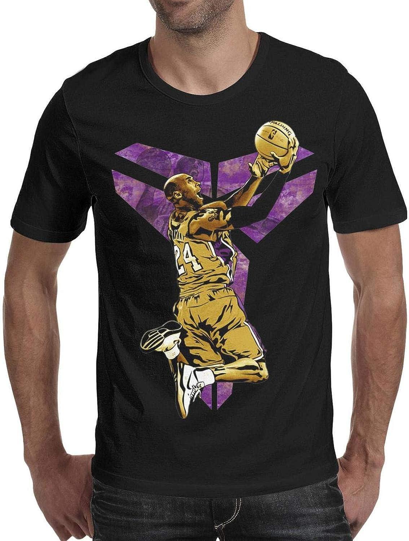 Classic Slim Fit Short Sleeve CALM FOX Men Tshirts La-bron-King-Player