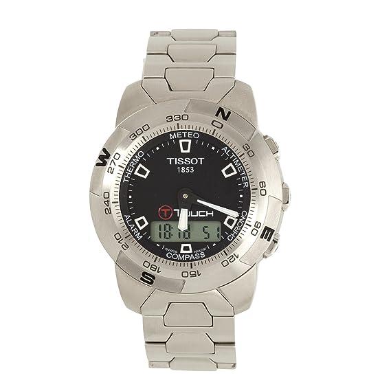 Tissot T33158851 - Reloj de cuarzo para hombre, con correa de acero inoxidable, color plateado: Tissot: Amazon.es: Relojes