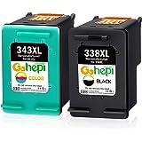 HP 338 C8765EE, Cartucho Original de Tinta Negro , compatible con impresoras de inyección de tinta HP Officejet 6210, 7110,7310xi, Photosmart 2610, 2710, 8150, 8450gp,8750; Deskjet 5740, 6620: Hp: Amazon.es: Oficina y papelería