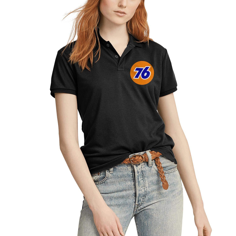 AINIJIAJ Womens Print Novelty Drink Cookie Juice Corn Chip Active Polo T Shirts
