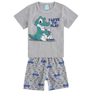 Pijama Infantil Masculino Camiseta + Bermuda Kyly 109440.0020.3 ... a5bc75323a3