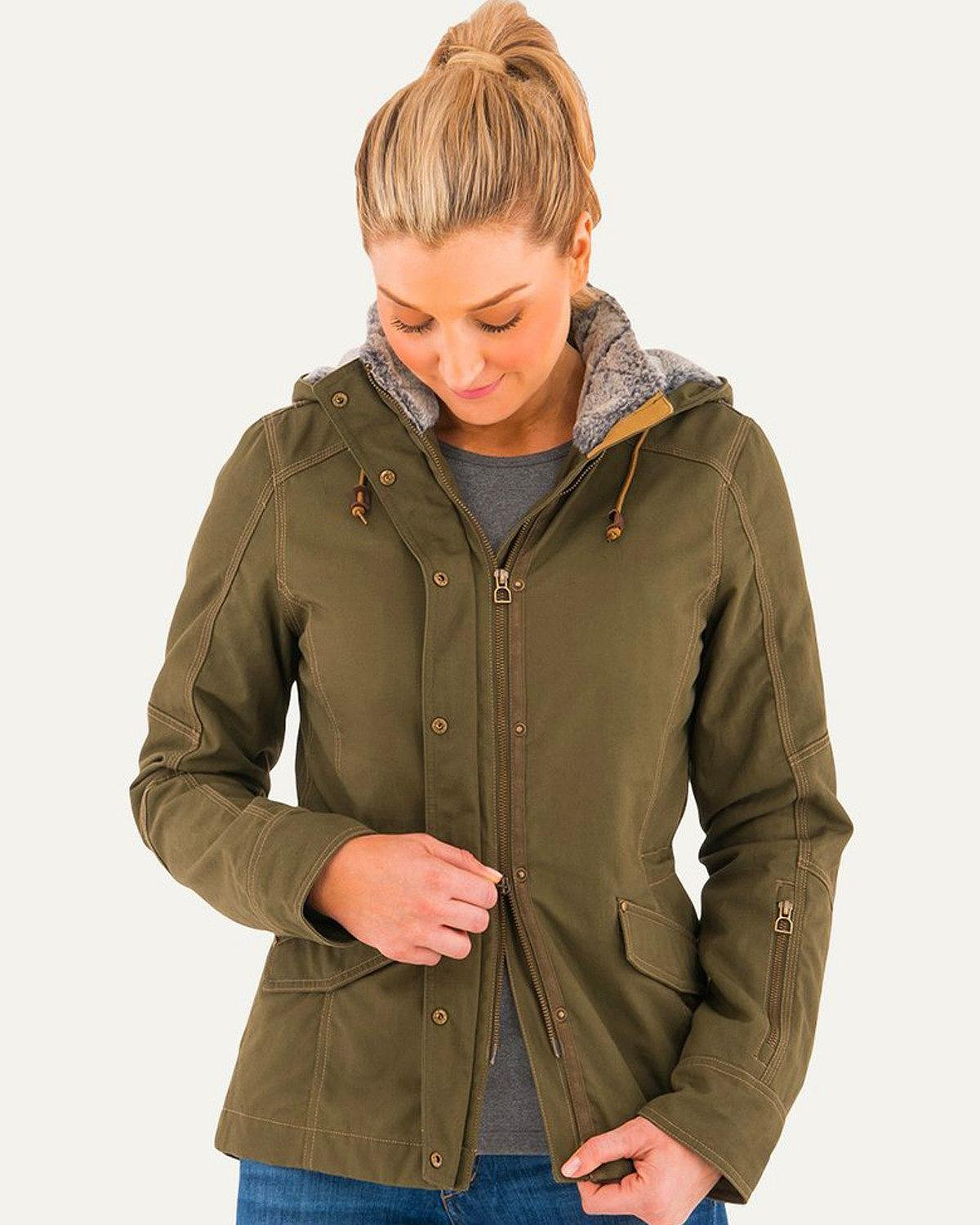 Noble Outfitters Jacket Womens Girl Tough Faux Fur Outerwear 28509
