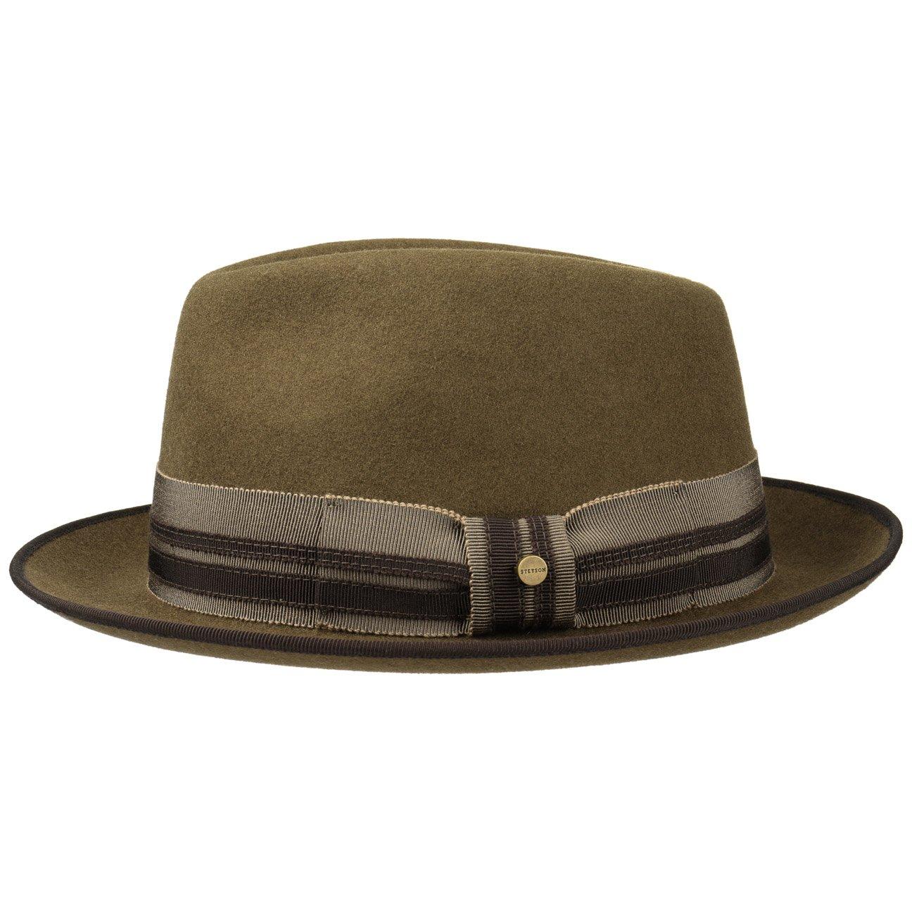 573dea0778638 Stetson Pulasco Player Wool Felt Hat Men at Amazon Men s Clothing store