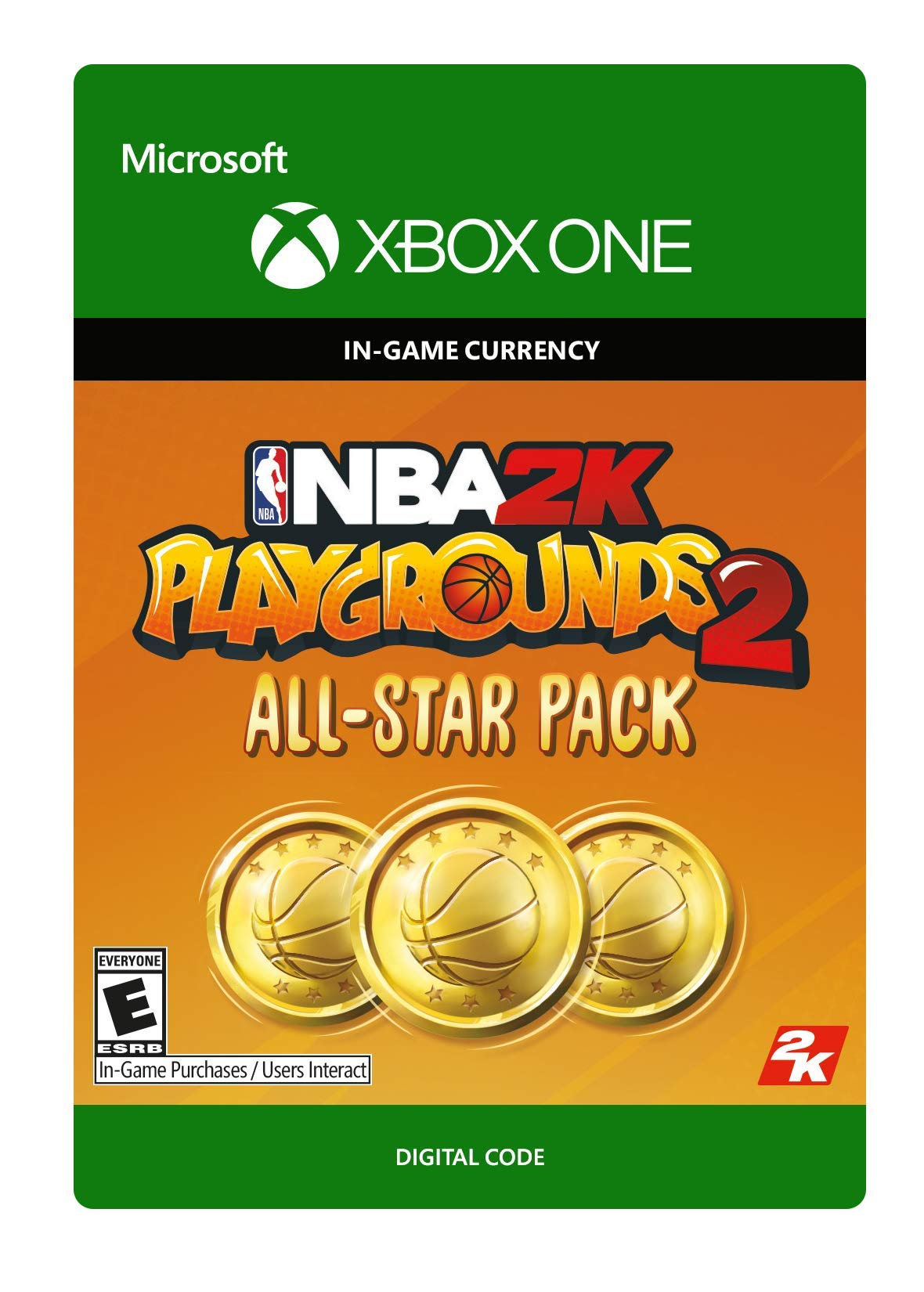 NBA 2K Playgrounds 2 All Star Pack - 16,000 VC Xbox One [Digital Code]