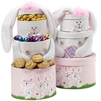 Somebunny special easter bunny gift tower pink amazon somebunny special easter bunny gift tower pink negle Images