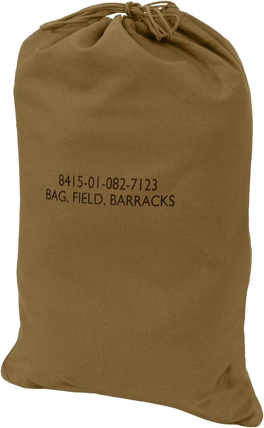 Type Canvas Barracks Bag Rothco G.I