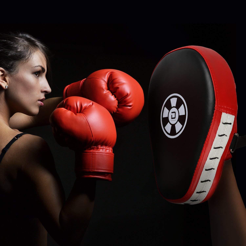 DAYUP Boxen Pads 1 Paar Handpratzen Boxen Pads Schlagpolster Handschlagpolster Boxtraining Kickboxen