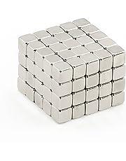 Oblique-Unique® 100 Neodym-Super-Magnete Würfel 5 x 5 x 5 mm