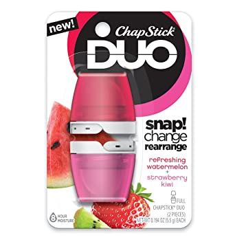 ChapStick Duo Blister Card, Tropical Pineapple Coconut, 0.4 Oz Wrinkle Expert Intensive Wrinkle Correction Serum 30ml/1oz
