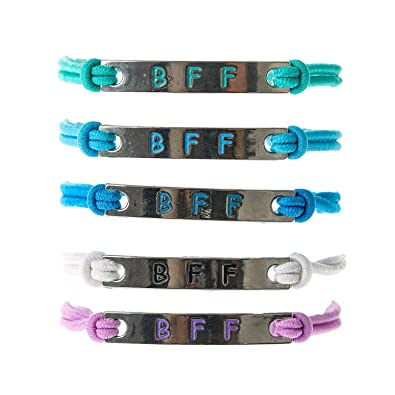 Claire's Girl's 5 Pack BFF Stretch String Friendship Bracelets