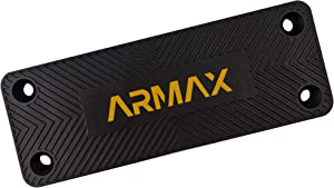ARMAX Gun Magnet, 80 lbs Magnetic Gun Mount, Pistol Magnet Holder, Holster Alternative, Mount Gun Securely for Car, Truck, Vehicle, Home. Gun Accessories - Handgun, Pistol, Rifle, Shotgun or Revolver