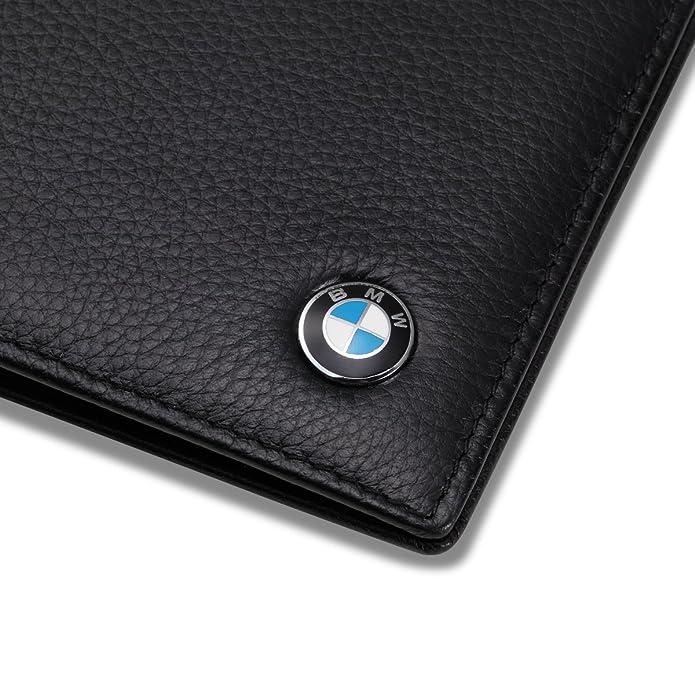 Amazon.com: BMW Bifold cartera con 3 ranuras de tarjeta de ...