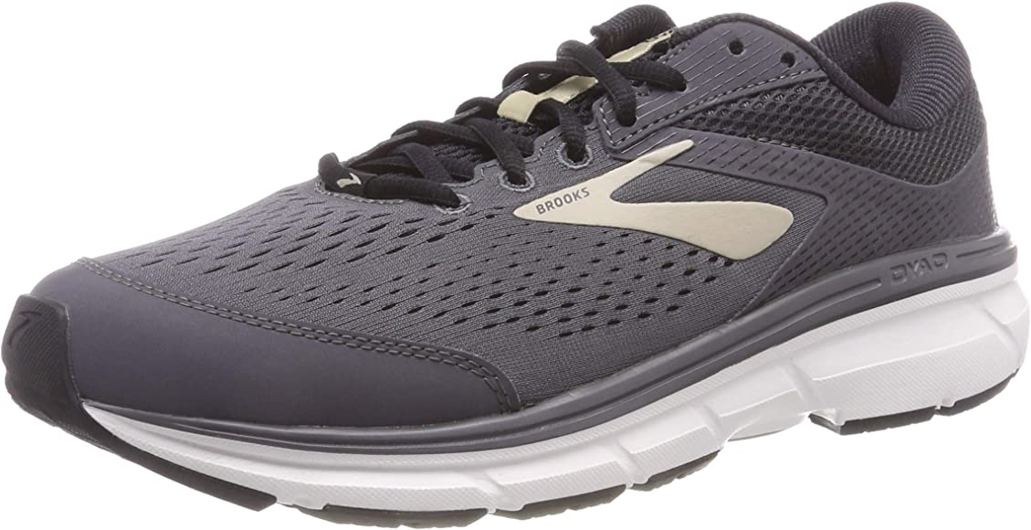 439c22eea5b Brooks Men s Dyad 10 Grey Black Tan 7 ...